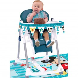 Mickey Mouse 1st Birthday High Chair Decoration Kit