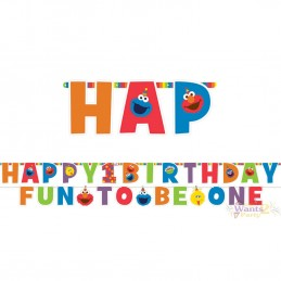 Elmo 1st Birthday Banner Kit
