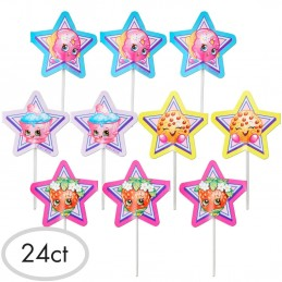 Shopkins Cupcake Picks (Set of 24)