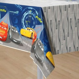 Cars 3 Plastic Tablecloth