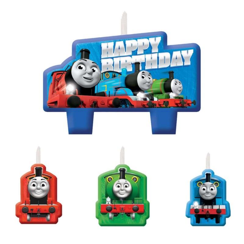 Thomas the Tank Engine Birthday Candles (4 Piece)