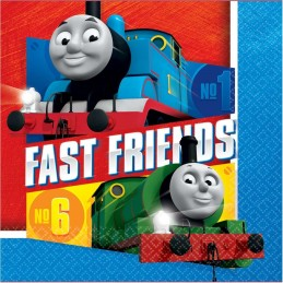 Thomas the Tank Engine Large Napkins (Pack of 16)