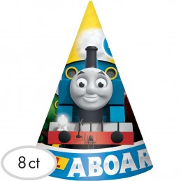 Thomas the Tank Engine Party Hats (Pack of 8)