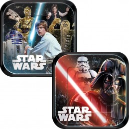 Star Wars Small Plates (Pack of 8)