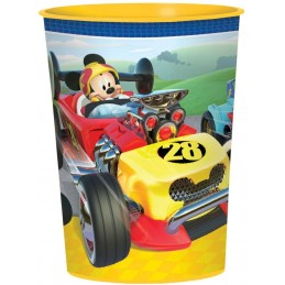 Mickey Mouse Roadster Large Plastic Cup