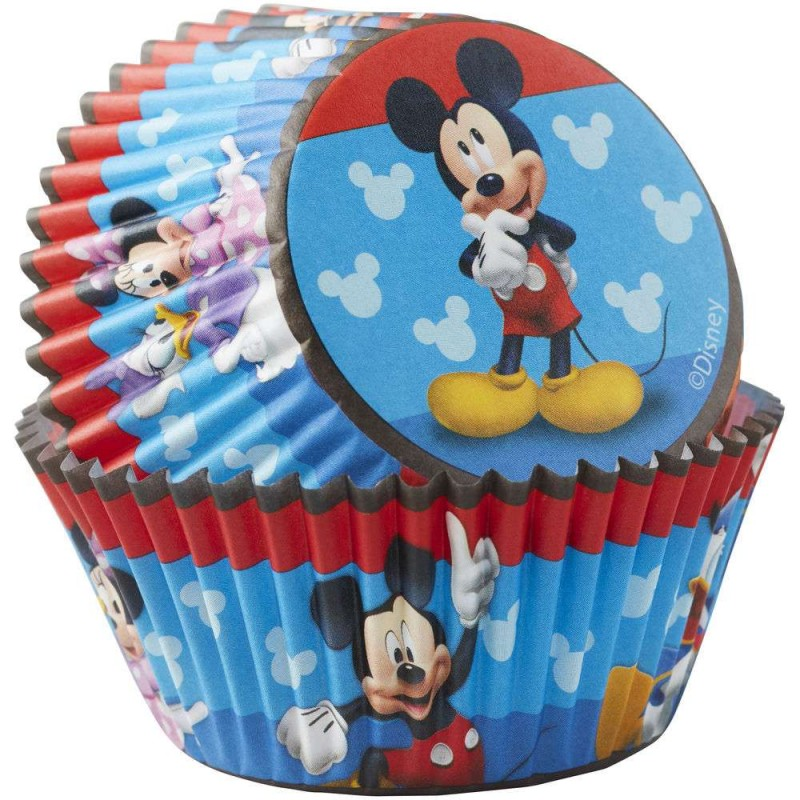 Mickey Mouse Roadster Baking Cups Patty Pans (Pack of 50)