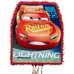 Cars 3 Lightning McQueen Pull String Pinata