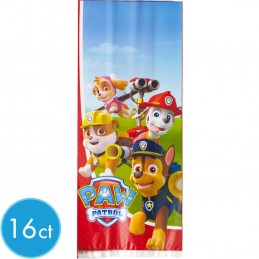 Paw Patrol Loot Bags (Pack of 16) | Paw Patrol Party Supplies