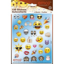 Emoji Stickers (Set of 136)