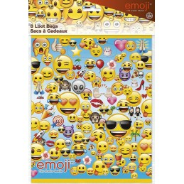 Emoji Loot Bags (Pack of 8)