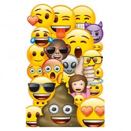 Emoji Stand Up Prop Cutout