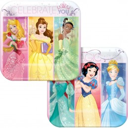 Disney Princess Dream Big Small Plates (Pack of 8)