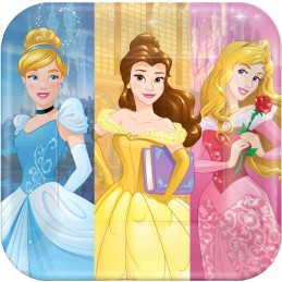 Disney Princess Dream Big Large Plates (Pack of 8)