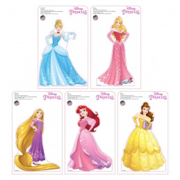 Disney Princesses Mini Cardboard Standups (5 Piece)
