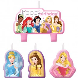 Disney Princess Dream Big Candles (Set of 4)