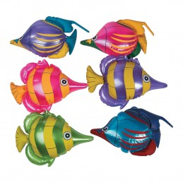 Inflatable Tropical Fish (Pack of 6)