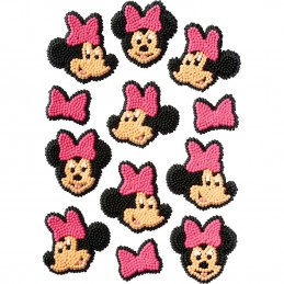 Wilton Minnie Mouse Icing Decoration (Pack of 12)