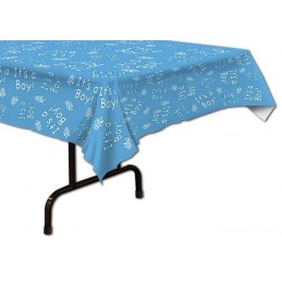 It's a Boy Plastic Tablecloth