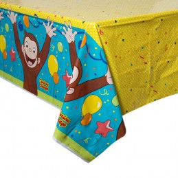 Curious George Plastic Tablecloth