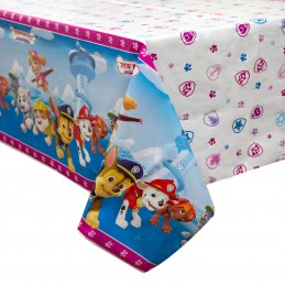 Paw Patrol Girl Plastic Tablecloth