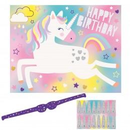 Rainbow Unicorn Party Game