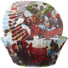 Avengers Baking Cups Patty Pans (Pack of 50)