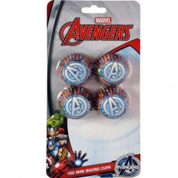 Avengers Mini Baking Cups Patty Pans (Pack of 100)