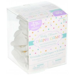 Baby Shower Diaper Game Kit