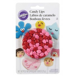 Wilton Candy Lips Icing Decorations