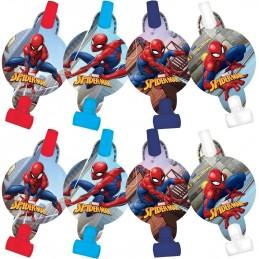 Spiderman Webbed Wonder Party Blowers (Pack of 8) | Spiderman