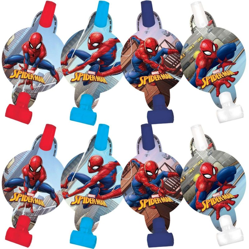 Ultimate Spiderman Party Blowers (8)