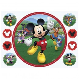 Mickey Mouse Edible Icing Cake Decorations (9 Piece)