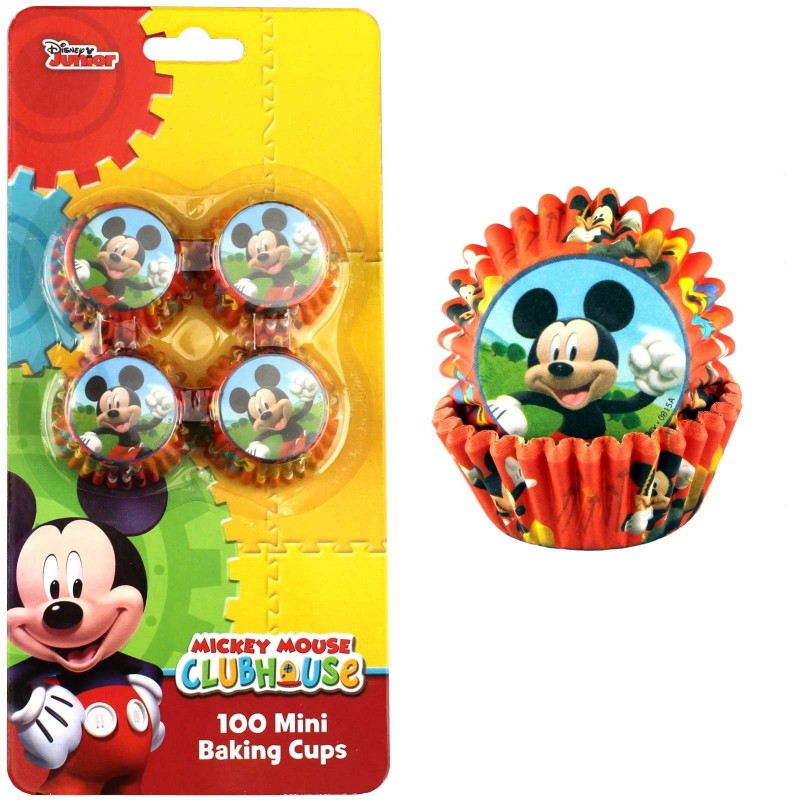 Mickey Mouse Mini Baking Cups (Pack of 100)