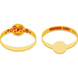 Mickey Mouse Rubber Wristbands (Pack of 4)