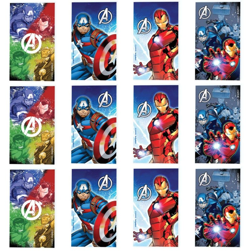 Avengers Epic Mini Notepads (Set of 12)