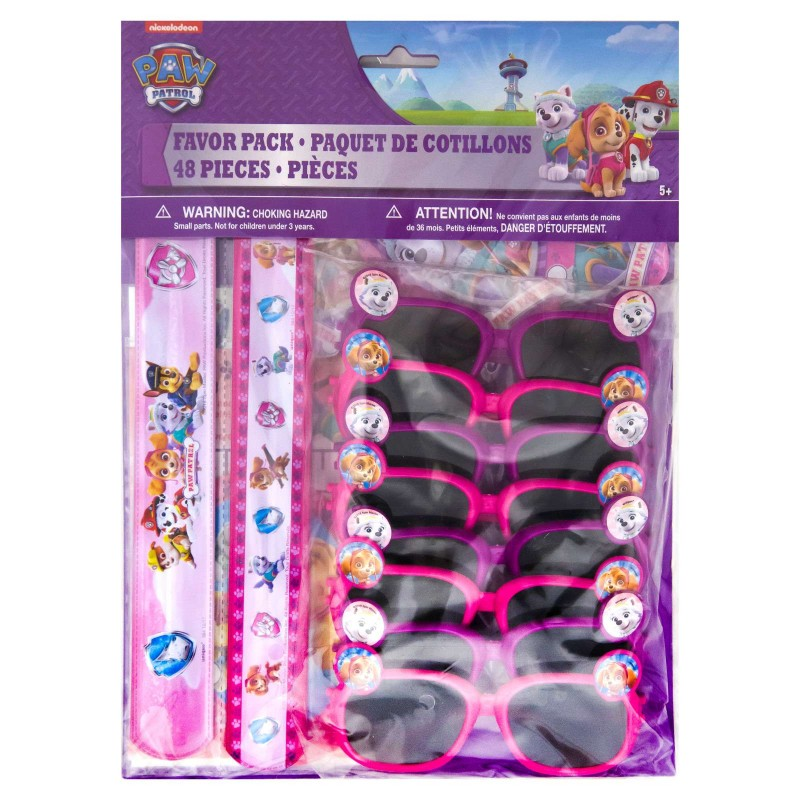 Paw Patrol Girl Party Favours Pack (48 Piece)