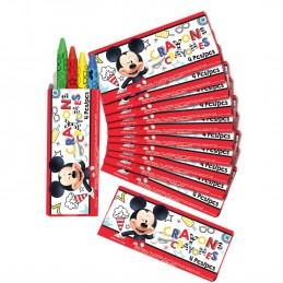 Mickey Mouse Mini Crayon Boxes (Pack of 12)