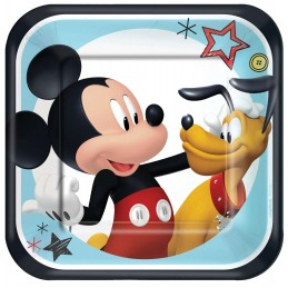Mickey Mouse On The Go Small Plates (Pack of 8)