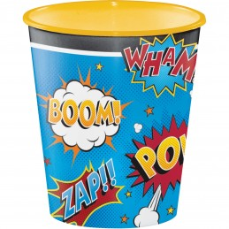 Superhero Large Plastic Cup