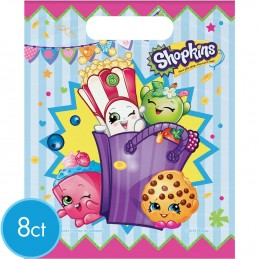 Shopkins Party Loot Bags (Pack of 8)
