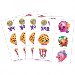 Shopkins Temporary Tattoos