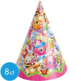 Shopkins Party Hats (Pack of 8)