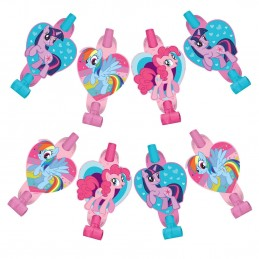 My Little Pony Party Blowers (Pack of 8)