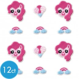 My Little Pony Icing Decorations (Pack of 12)