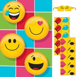 Emoji Pin The Emoticon Party Game