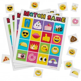 Emoji Bingo Match Party Game