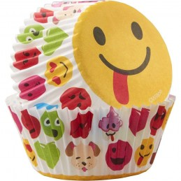 Emoji Baking Cups (Pack of 50)
