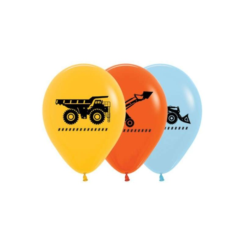 Construction Balloons (Pack of 10)