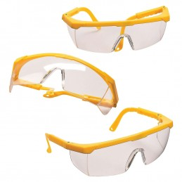 Construction Yellow Plastic Glasses (Pack of 12) | Construction Party Supplies