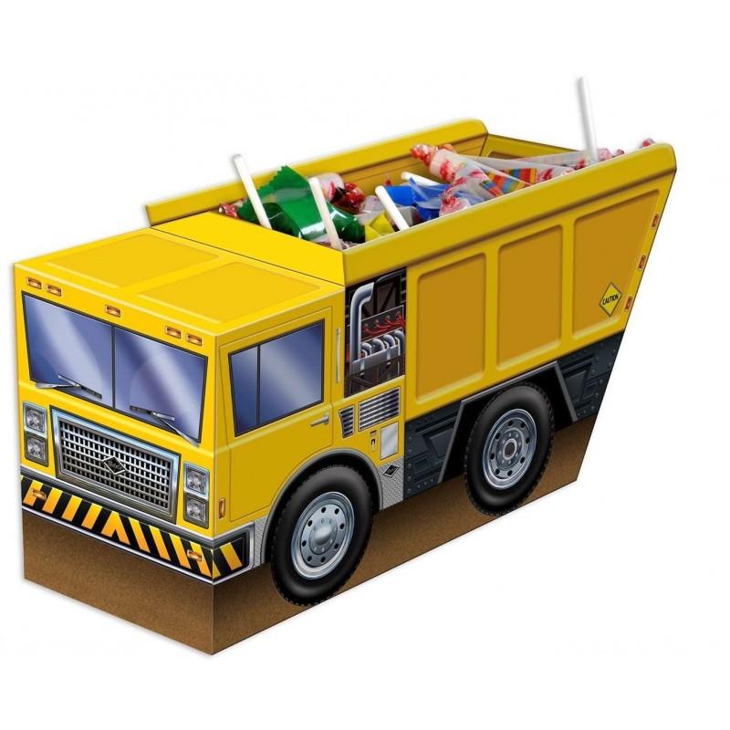 Construction 3D Dump Truck Centrepiece